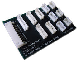 adapter board for Kokam, Graunper packs