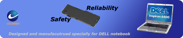 Battery pack for dell notebook or laptop PC